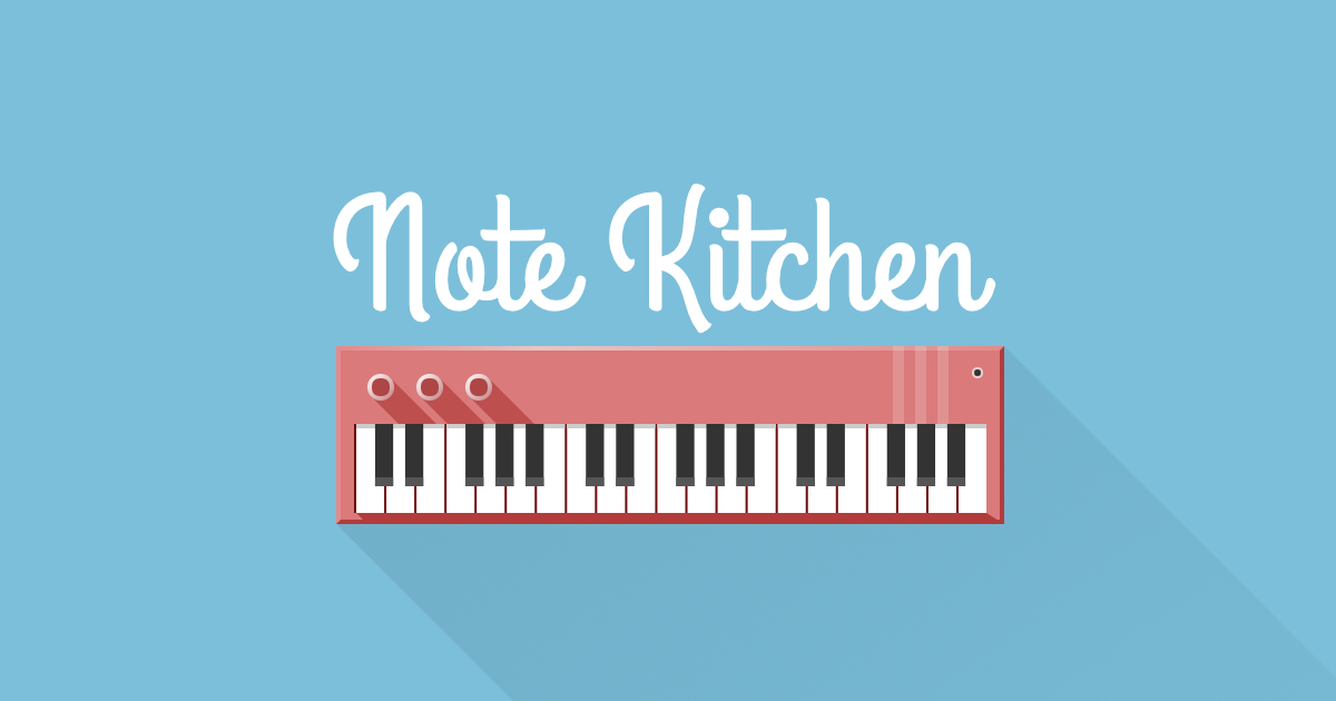 Note Kitchen Piano Chords And Scales